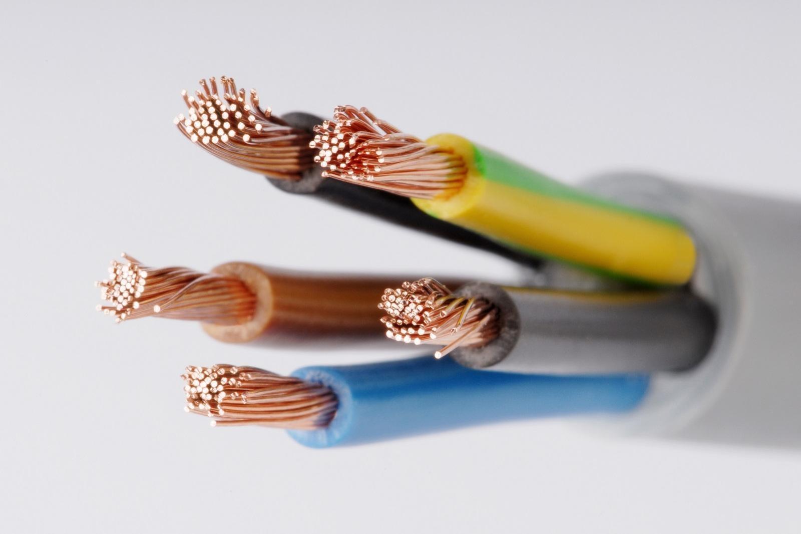 oznaczenia kabli elektrycznych